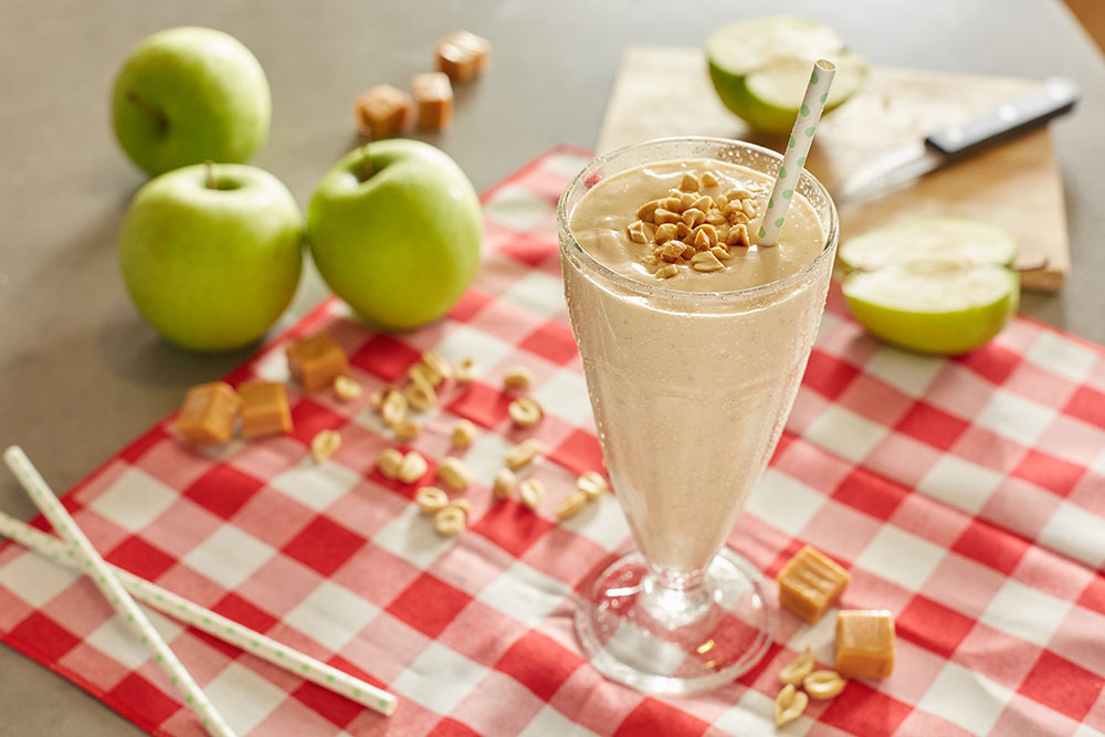 shake me up power shake caramel apple caramel apple pie protein shakes ...
