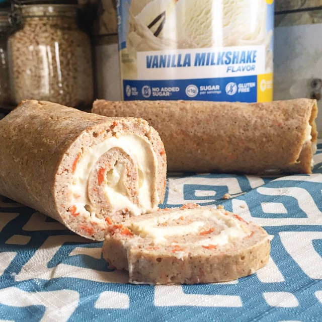 Quest Nutrition Carrot Cake Roll