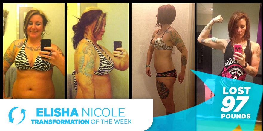 Weight Loss Transformation Story: Elisha Nicole
