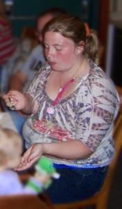 Sandra Before1 eating