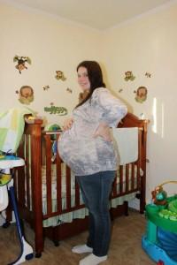 Sandra pregnant