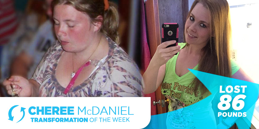 Weight Loss Transformation: Cheree McDaniel