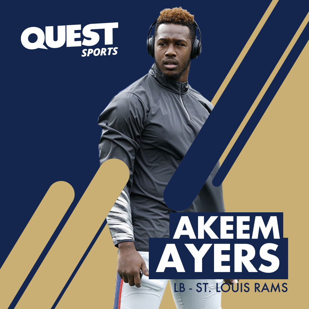 nfl, football, superbowl, new england patriots, st louis rams, akeem ayers, ucla, quest nutrition