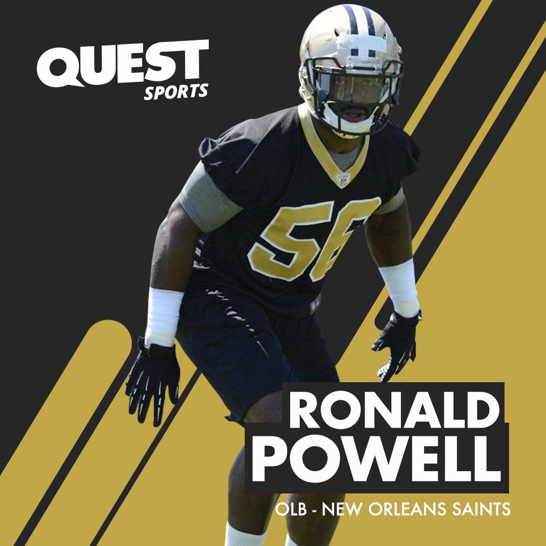 Ronald Powell - New Orleans Saints