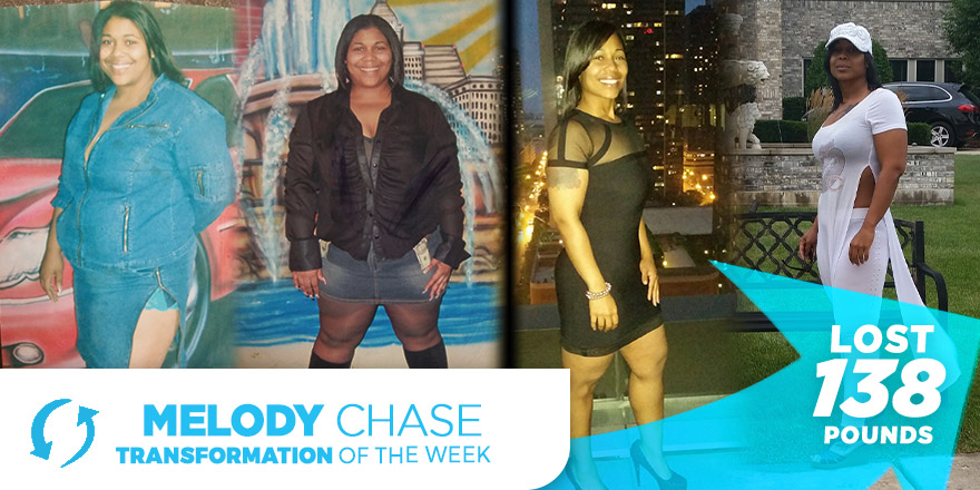 Weight Loss Transformation: Melody Chase
