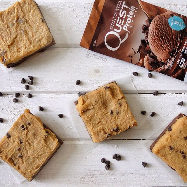 Quest Nutrition Cookie Dough Brownies