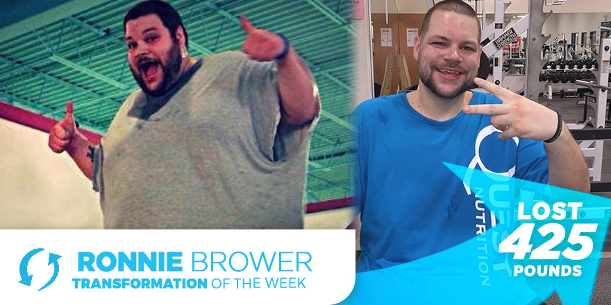 Weight Loss Transformation: Ronnie Brower