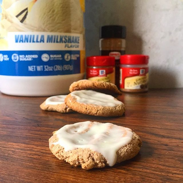 Quest Nutrition Glazed Ginger Snap Cookies
