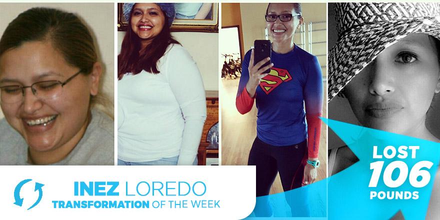 Weight Loss Transformation Story: Inez Loredo