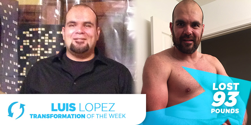 Weight Loss Transformation: Luis Lopez