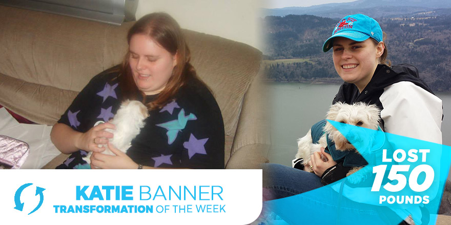 Weight Loss Transformation: Katie Banner