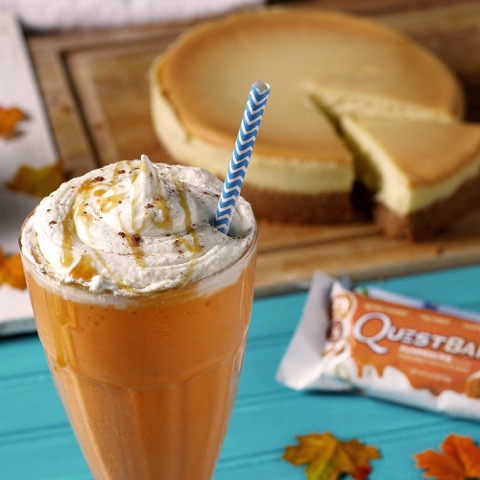 Quest Nutrition Pumpkin Cheesecake Shake