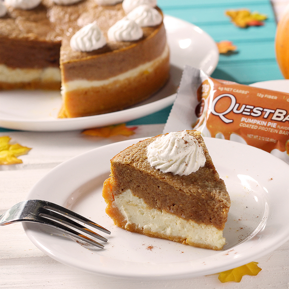 Pumpkin Pie Cheesecake Recipe — Dishmaps
