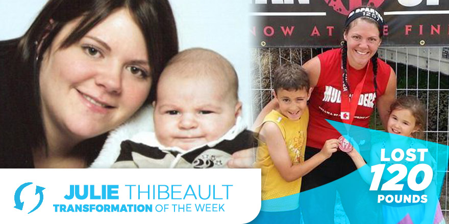 Weight Loss Transformation: Julie Thibeault