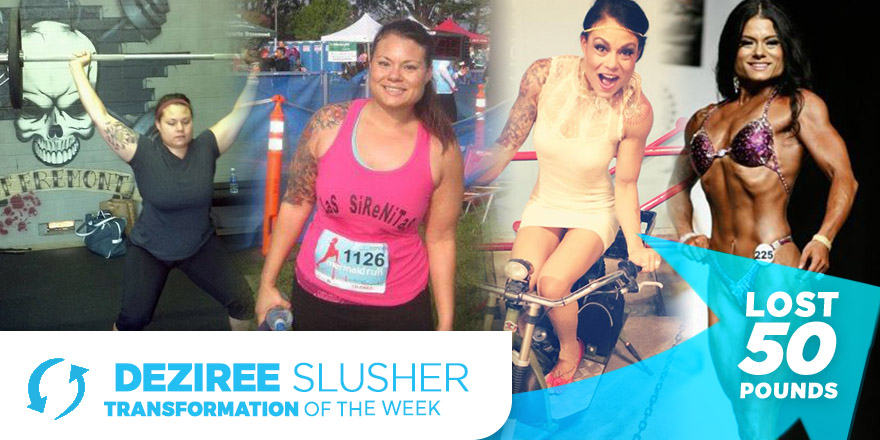 Weight Loss Transformation: Deziree Slusher