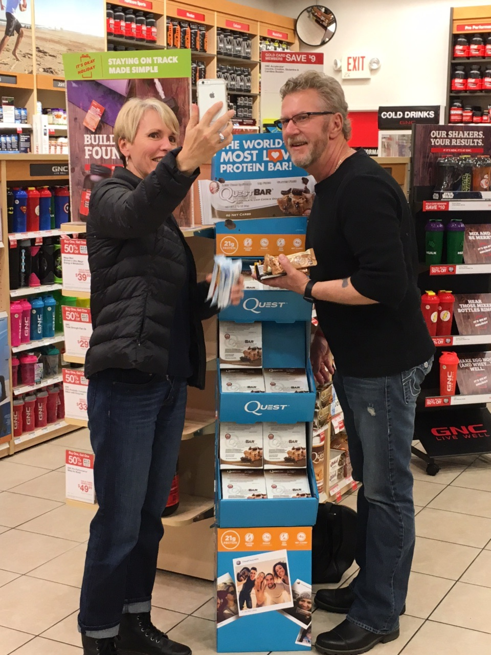 """World's Most Loved Protein Bar #MyQuest"" Sweepstakes – GNC Canada"