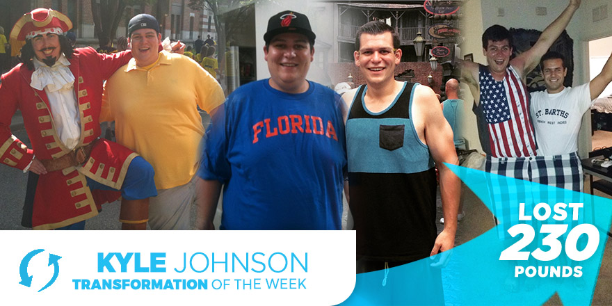 Weight Loss Transformation: Kyle Johnson