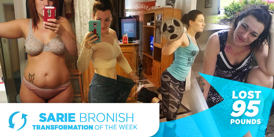 Weight Loss Transformation: Sarie Bronish