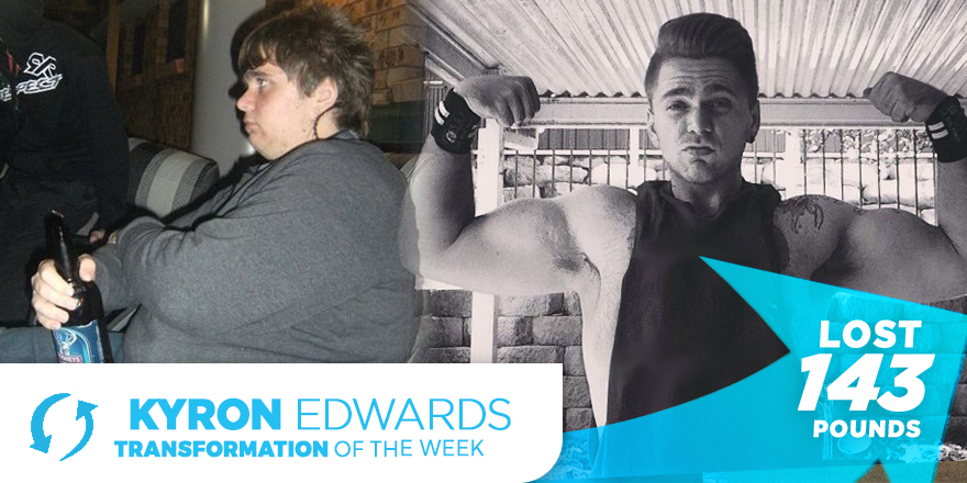 Weight Loss Transformation: Kyron Edwards