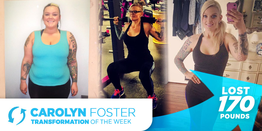 Weight Loss Transformation: Carolyn Foster