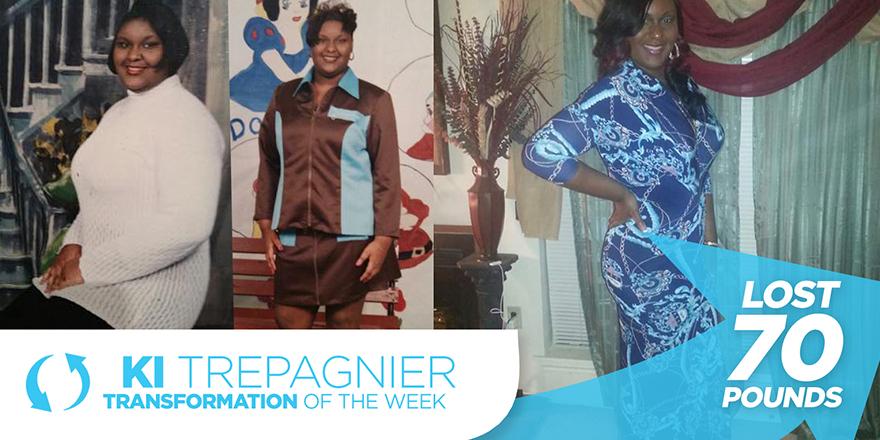 Weight Loss Transformation: Ki Trepangier