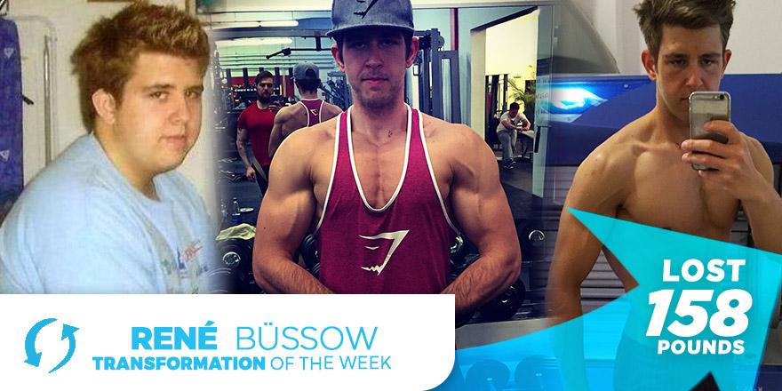 Weight Loss Transformation: René Büssow