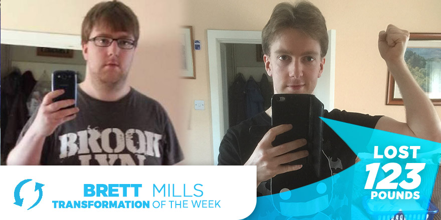 Weight Loss Transformation: Brett Mills