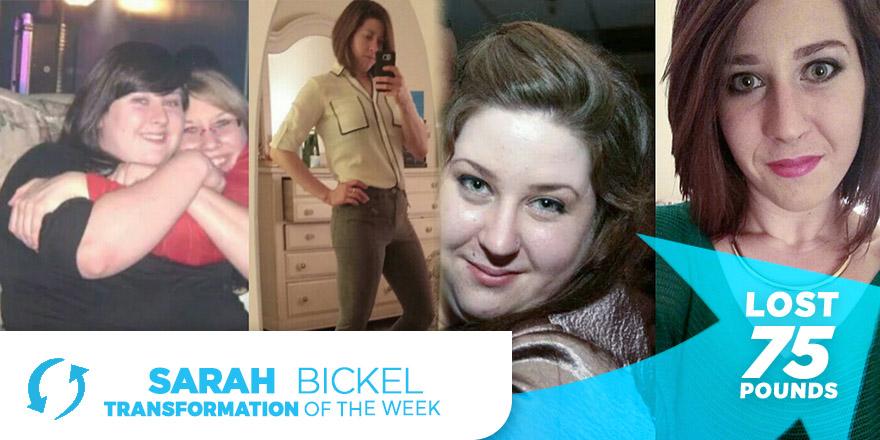 Weight Loss Transformation: Sarah Bickel