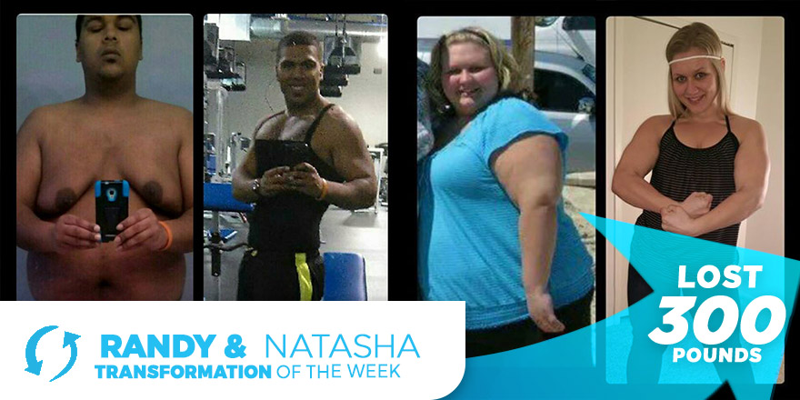 Randy & Natasha Weight Loss Transformations