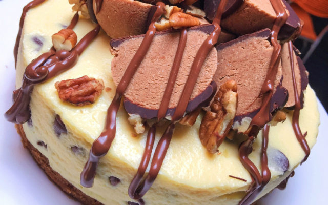 This Epic Cookie Dough Cheesecake Is Your New BFF