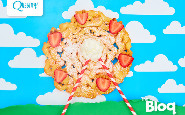 This PROTEIN Funnel Cake Is The Real Reason You're Excited For Carnival Season