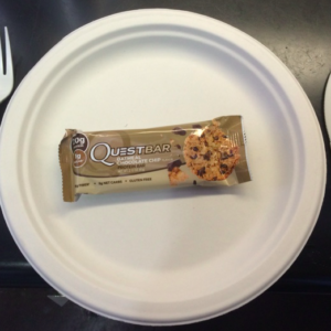 Oatmeal Chocolate Chip Quest Bar Review