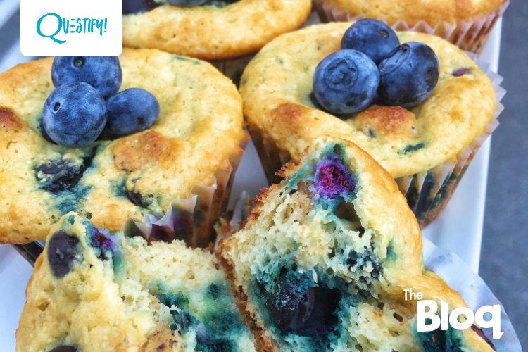 Watch as We Transform The Blueberry Muffin Quest Bar Into an Actual Blueberry Muffin