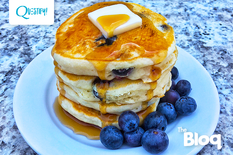 Make These Blueberry Protein Pancakes For Your Next Fit Fam Brunch
