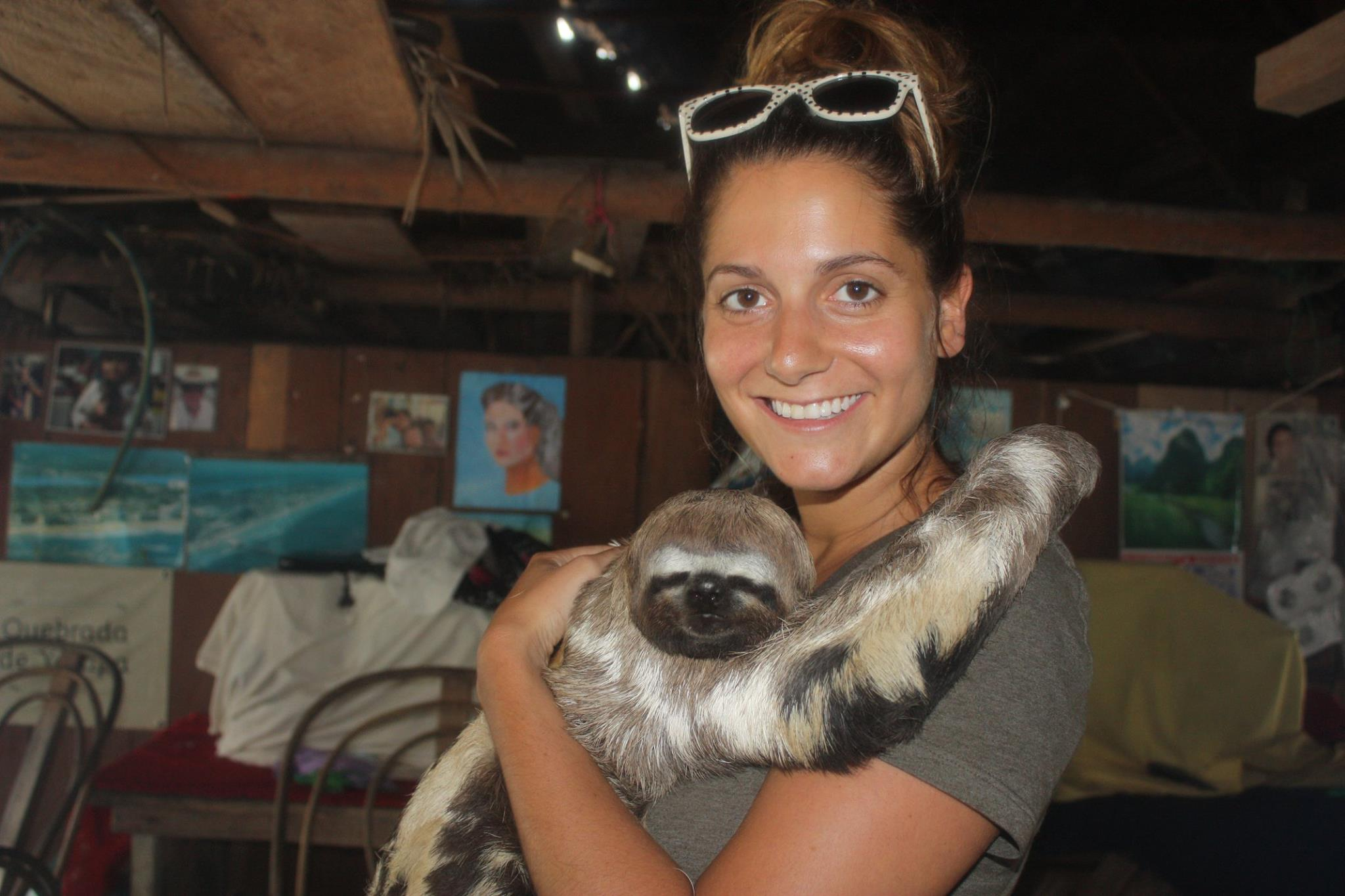danielle-and-sloth