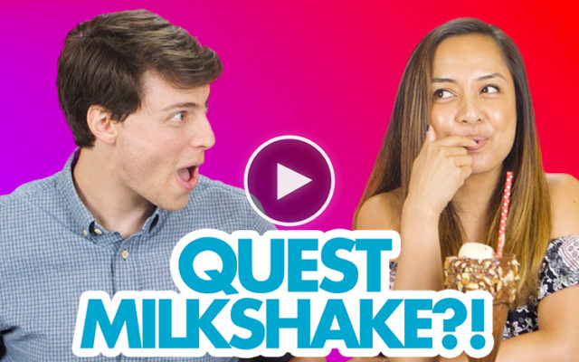 Quest Employees Try the Rocky Road Milkshake for the First Time