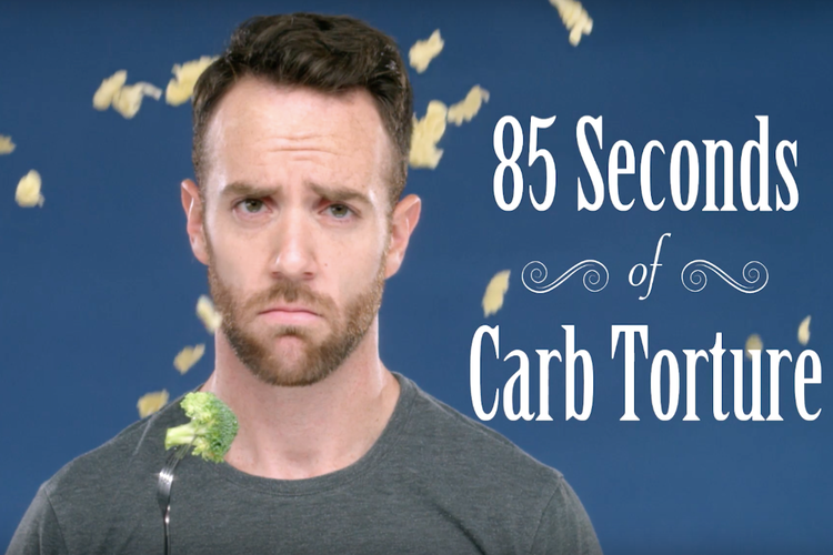 Literally Just 85 Seconds of Torture for Anyone On a Low-Carb Diet