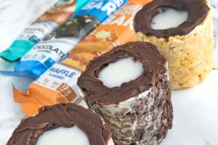 Take A Shot At Making These Cereal Bar Protein Shots!