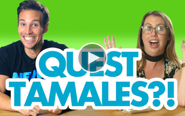 Quest Employees Try Protein Tamales for the First Time