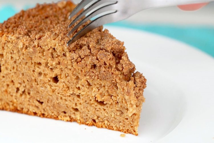 Surprise Your Holiday Party-Goers With This Insanely Fluffy Protein Coffee Cake