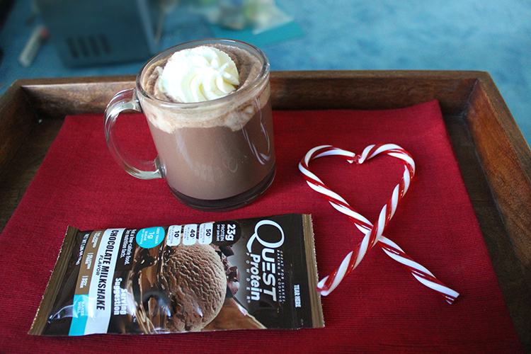 Curl Up Your Biceps Next to the Fire With This Protein Peppermint Hot Chocolate
