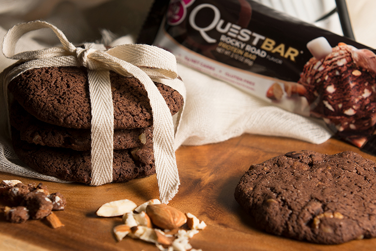 Rocky Road Quest Bar Cookies