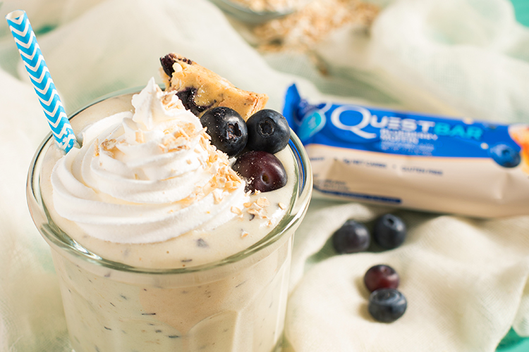 Quest Blueberry Muffin Shake
