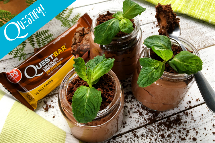Celebrate Earth Day with This Craveable Chocolate Mousse Potted Plant!