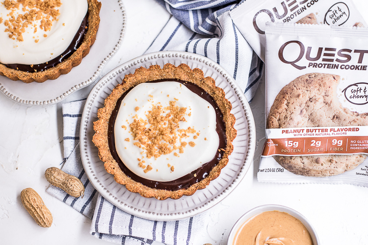 You Have to Try This Peanut Butter Cookie S'mores Tart ASAP!