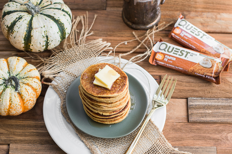 Your Fall Cravings Will Flip for These Pumpkin Spice Flapjacks
