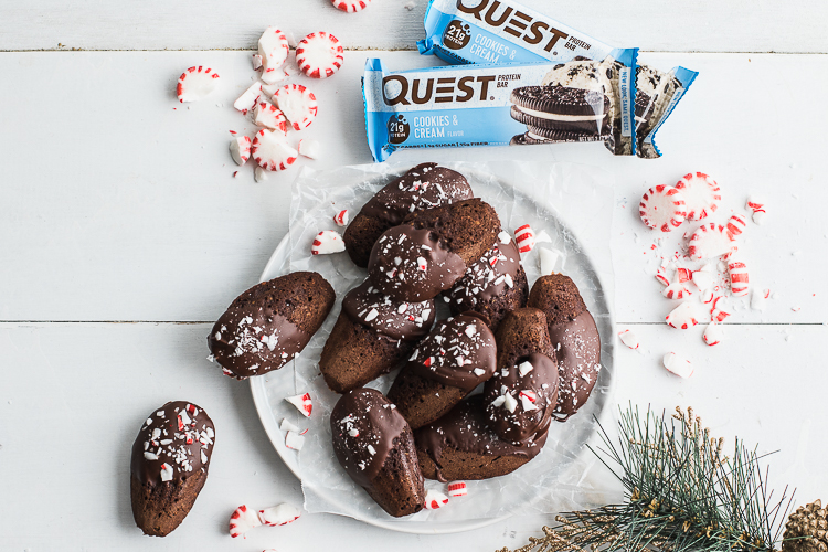 Just in Time for the Holidays, Gather the Family and Bake Up These Delicious Chocolate Peppermint Madeleines