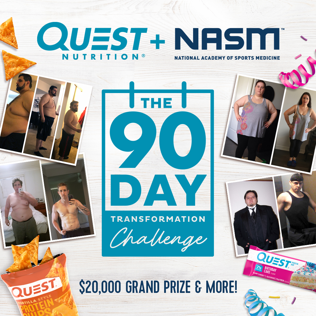 Quest & NASM 90 Day Transformation Challenge Contest Official Rules