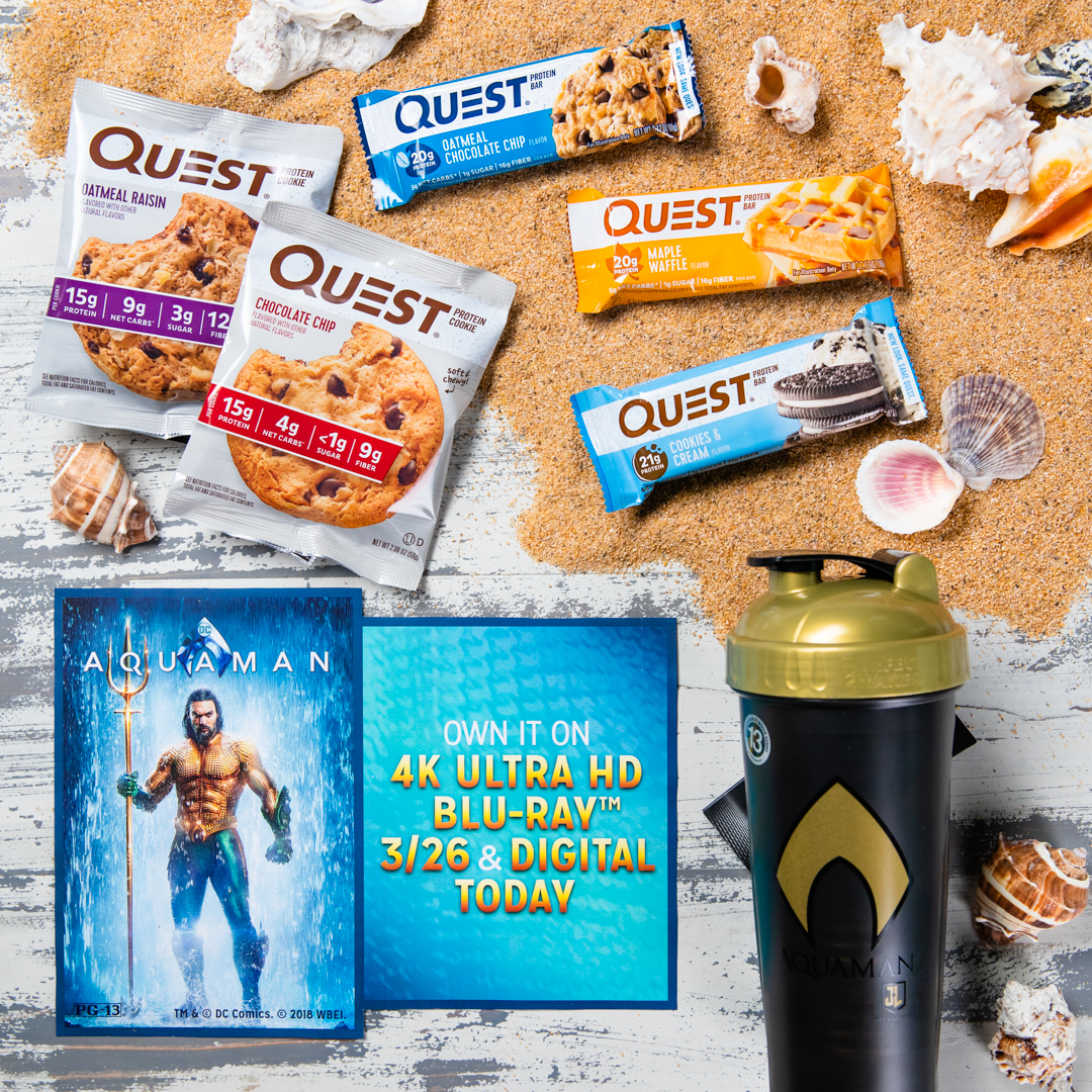 Aquaman Prize Pack Sweepstakes Official Rules
