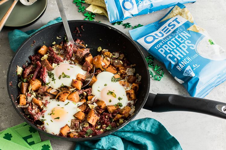 Savor the Flavor of Questified Corned Beef Hash!